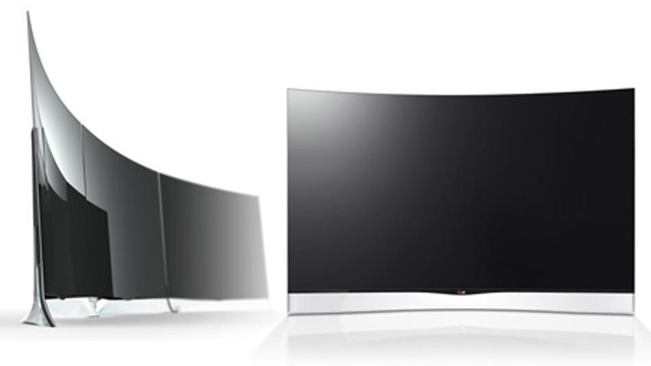 lg lance le premier cran oled incurv 55 pouces. Black Bedroom Furniture Sets. Home Design Ideas