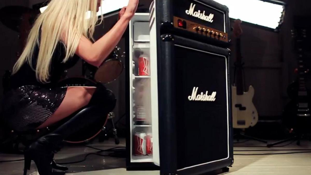 frigo marshall en forme d 39 ampli