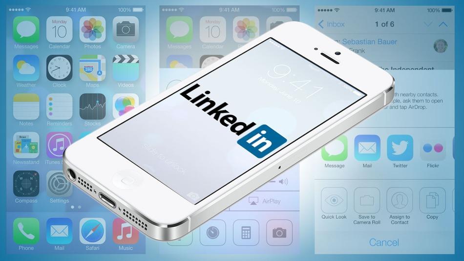 Linkedin-iOS7