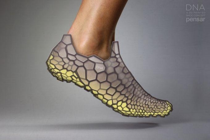Adidas a créé des chaussures imprimées en 3D avec de la