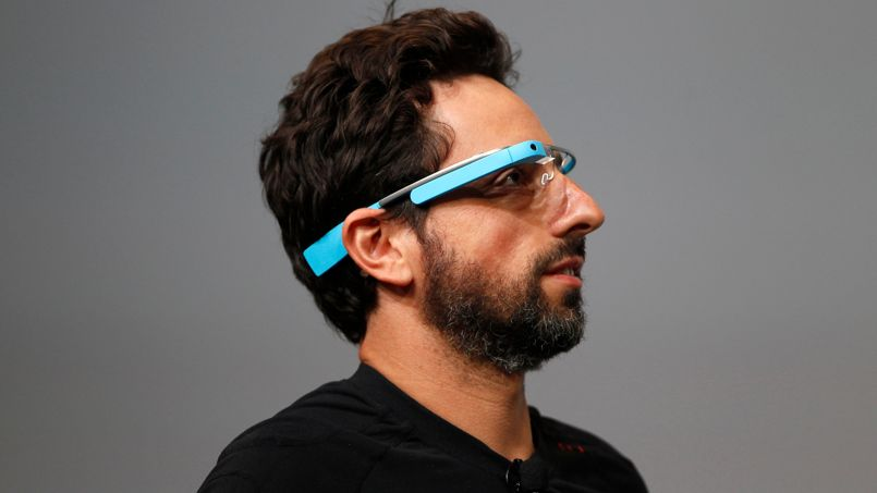 Google CEO Sergey Brin speaks at Google I/O 2012 Conference