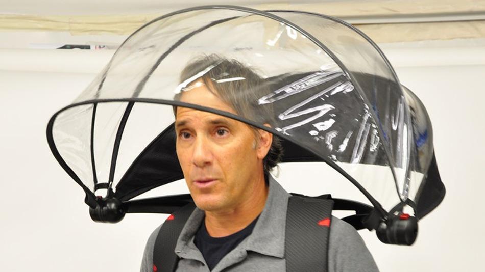 bas prix ad1a9 0ee02 Nubrella : un parapluie utilisable sans les mains