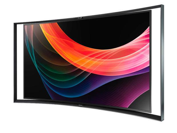 samsung la tv oled incurv e 55 pouces disponible en europe. Black Bedroom Furniture Sets. Home Design Ideas