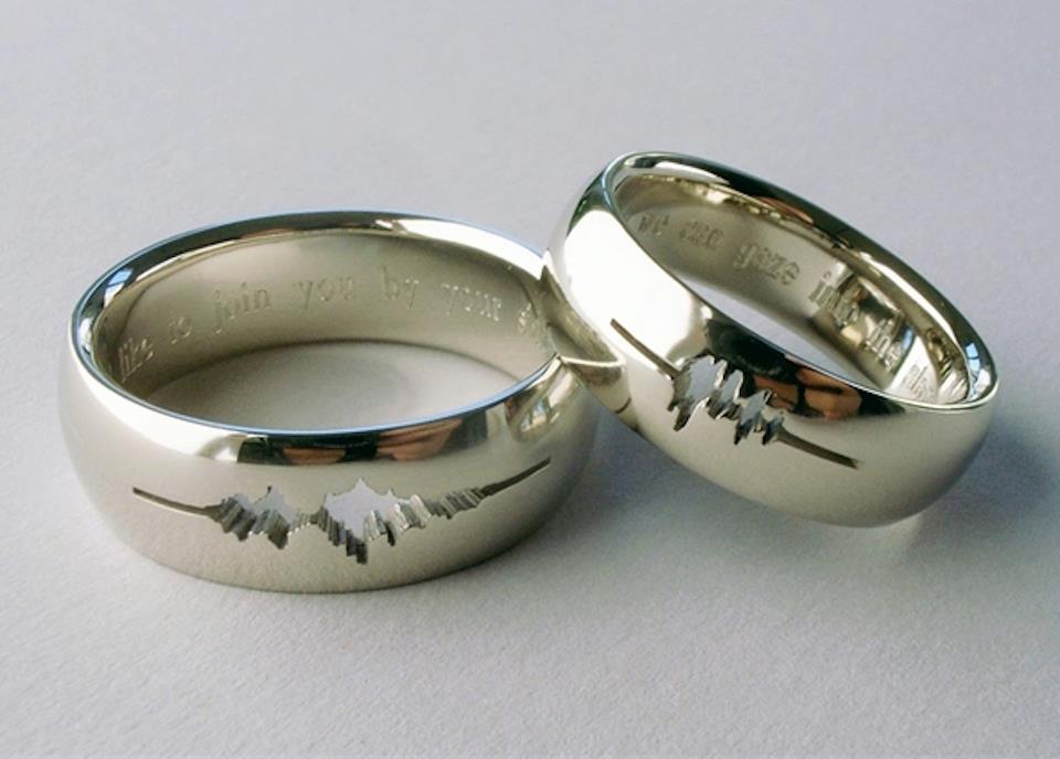 Super 23 bagues de mariage pour Geek #LS_88