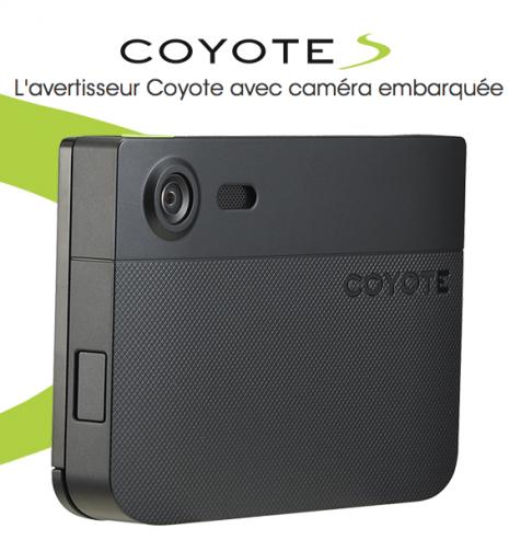 coyote s un avertisseur de radars avec cam ra embarqu e. Black Bedroom Furniture Sets. Home Design Ideas