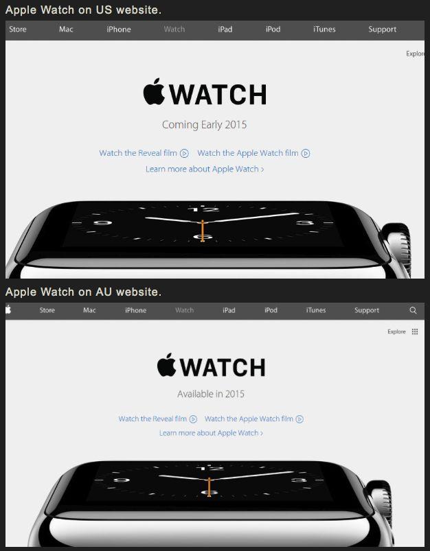 Presenting Content To Different Types Of Learners: Apple Watch : En Vente Début 2015 Dans 7 Pays Dont La France