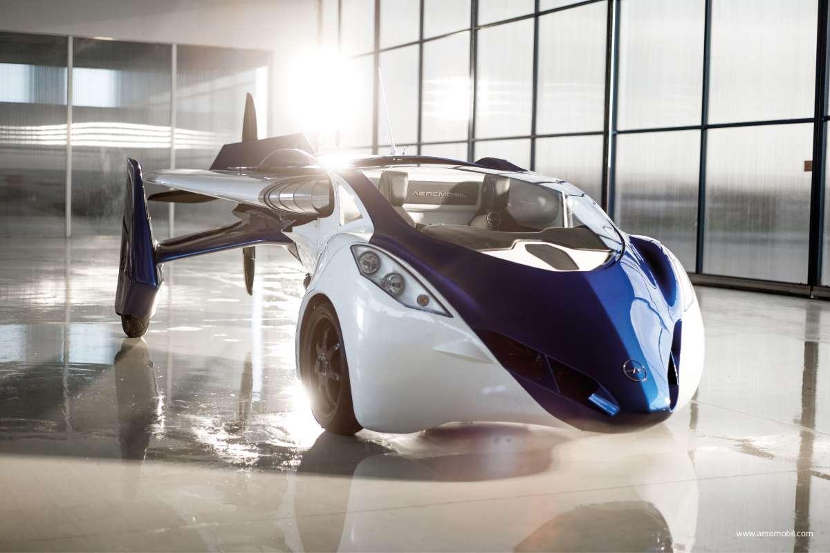 aeromobil la voiture volante sera commercialis e d s 2017. Black Bedroom Furniture Sets. Home Design Ideas