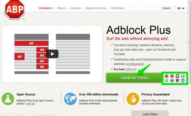 (attention car des « faux Adblock » existent et installent des parasites pour attirer encore plus de pubs) 2. Nous sommes sur le site officiel des extensions (plugins) de Firefox.