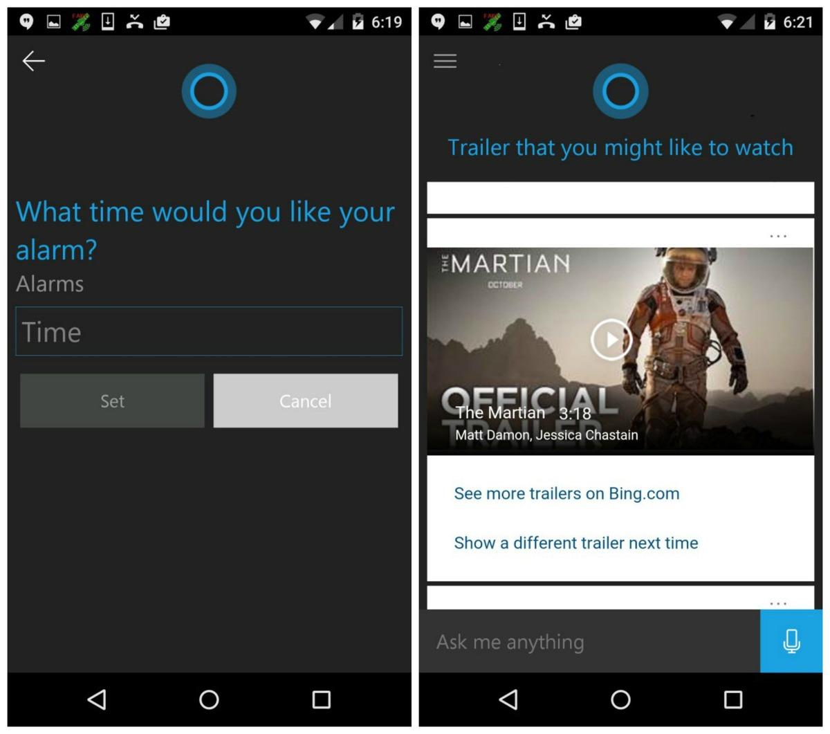 Cortana-Android-app