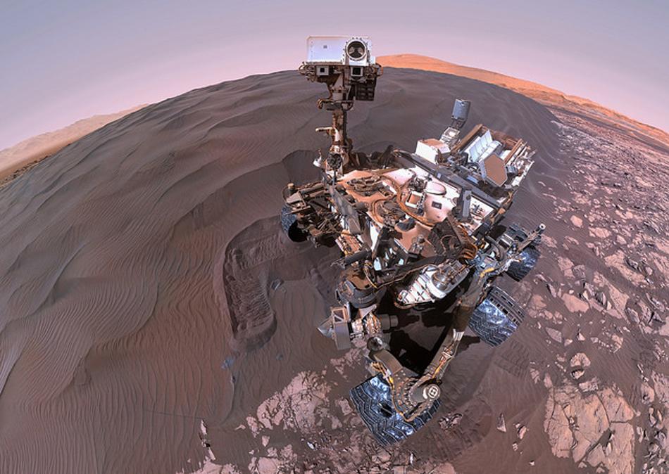 Camera 360 Degres >> La Nasa publie une image à 360 degrés de la planète Mars