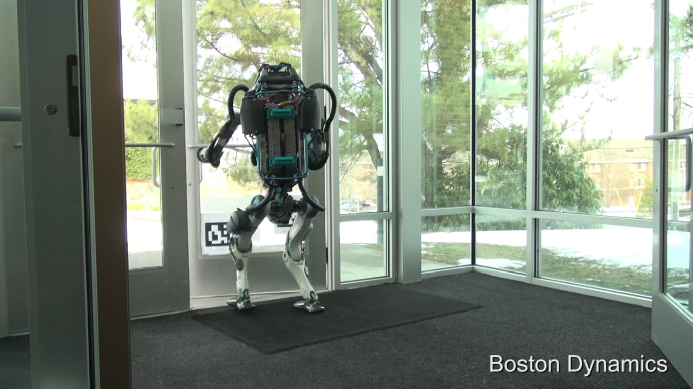 boston dynamics pr sente la derni re version de son robot atlas. Black Bedroom Furniture Sets. Home Design Ideas