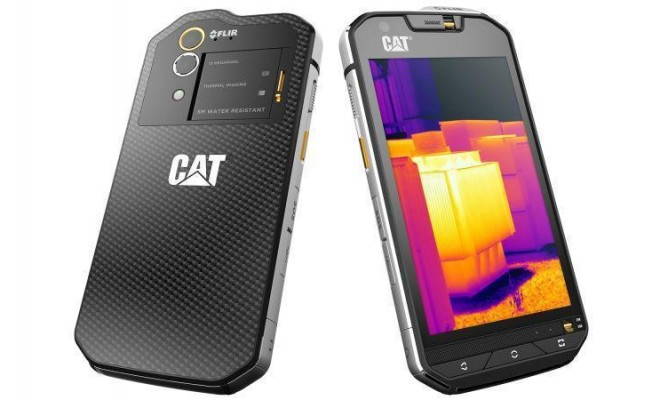 mwc 2016 cat s60 le premier t l phone adoptant une cam ra thermique gridam. Black Bedroom Furniture Sets. Home Design Ideas