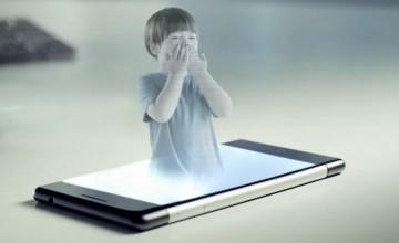 hologramme-smartphone