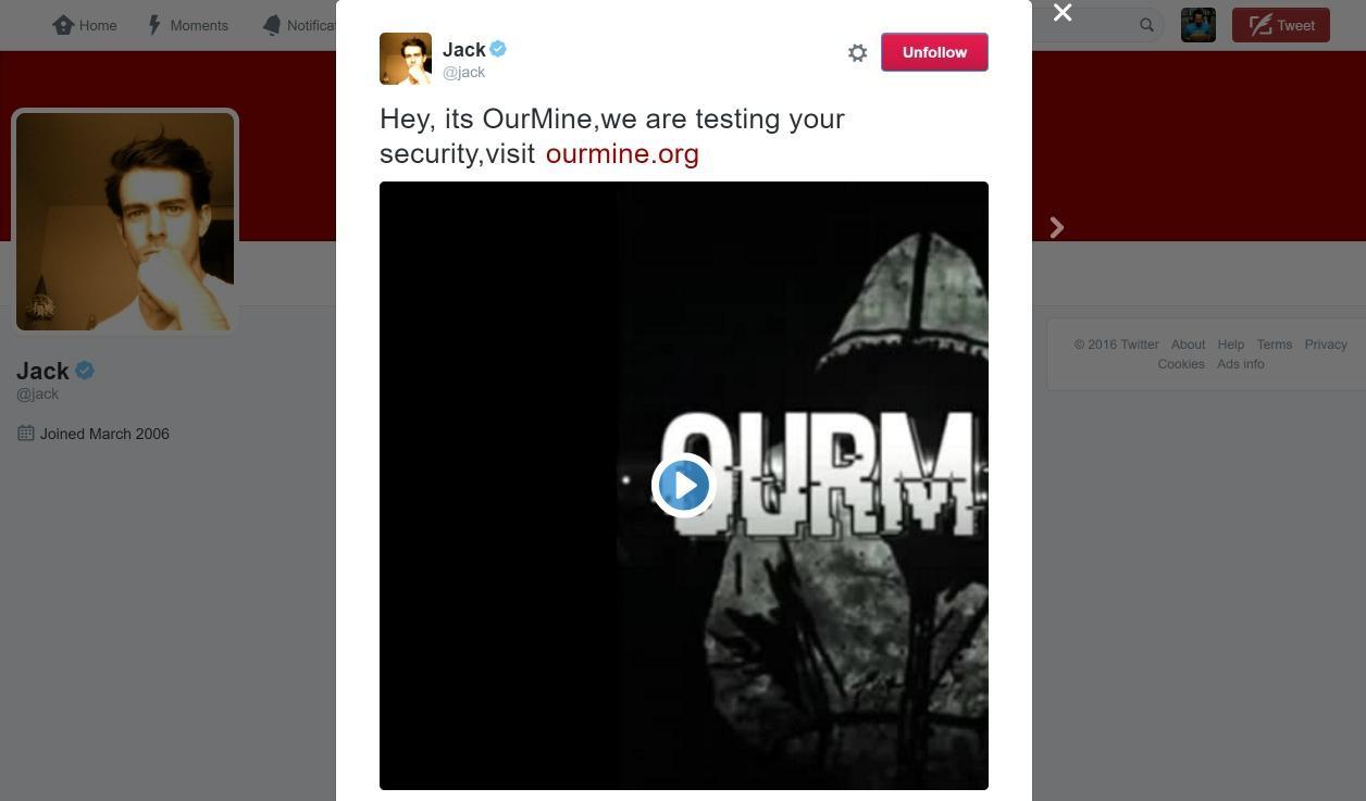 Le compte du PDG Jack Dorsey piraté — Twitter