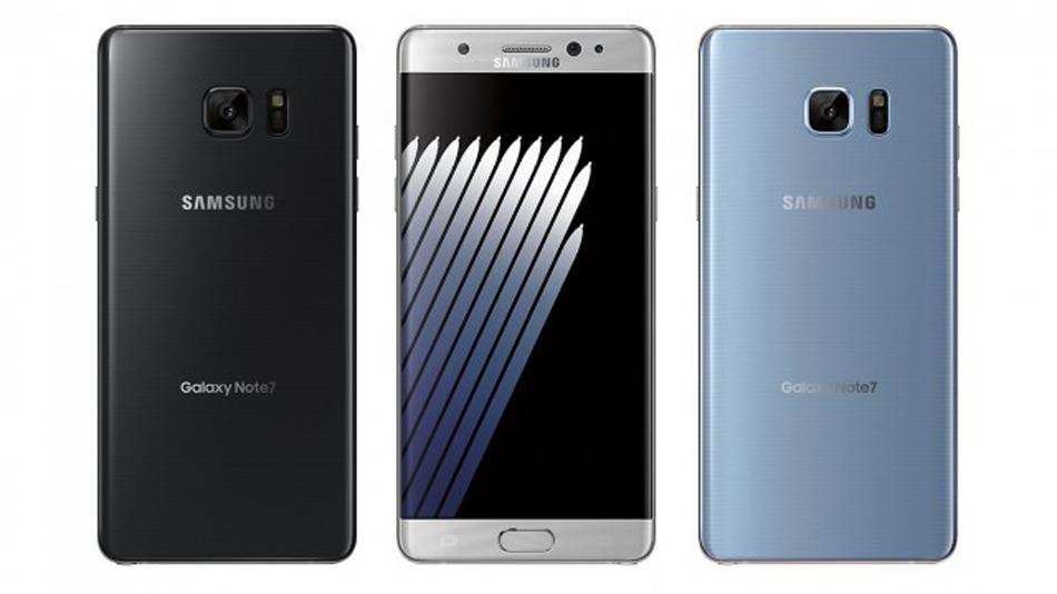Samsung Galaxy Note 7: Premières images officielles en