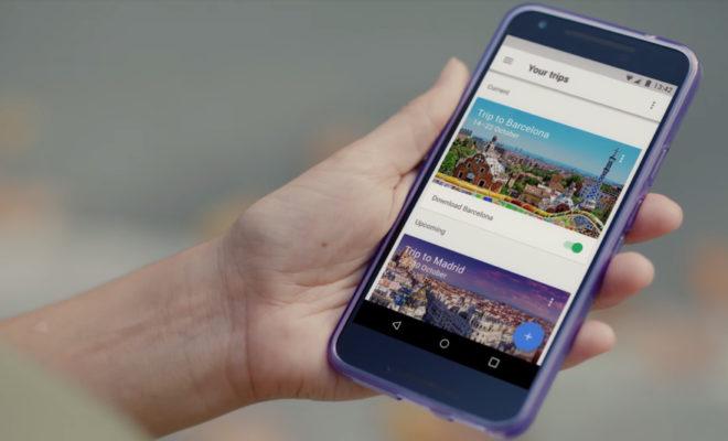 google lance un planificateur de voyage sur mesure google trips. Black Bedroom Furniture Sets. Home Design Ideas