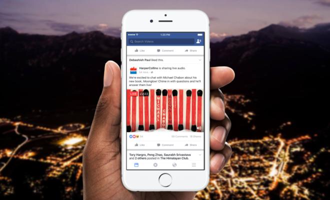 Après la vidéo, Facebook se lance dans le Live Audio