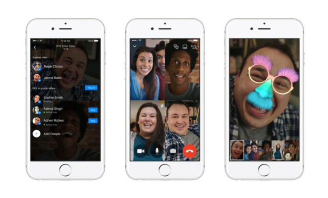 Facebook Messenger introduit les appels vidéo à plusieurs