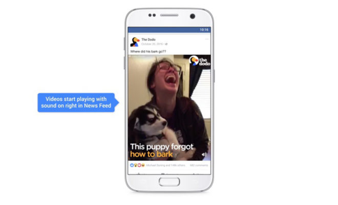 Préparez-vous à devoir couper le son — Vidéos sur Facebook