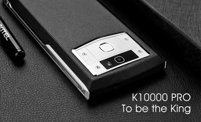 Oukitel présente un smartphone avec une batterie de 10.000 mAh