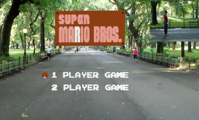 Quelqu'un a recréé Super Mario Bros en réalité augmentée