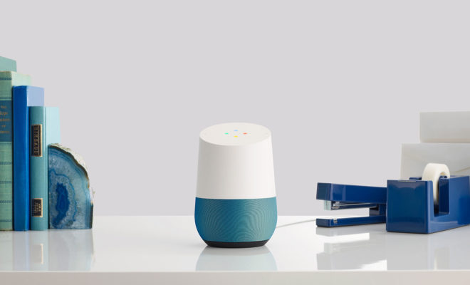 L'enceinte intelligente Google Home arrive en France début août