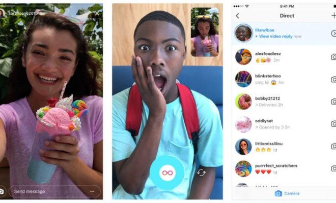 Il est possible de répondre aux stories Instagram par une photo ou une vidéo !
