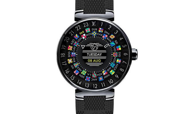 Louis Vuitton annonce la montre Tambour Horizon sous Android Wear