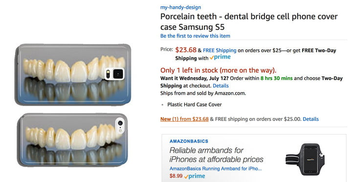 teeth-smartphone-case