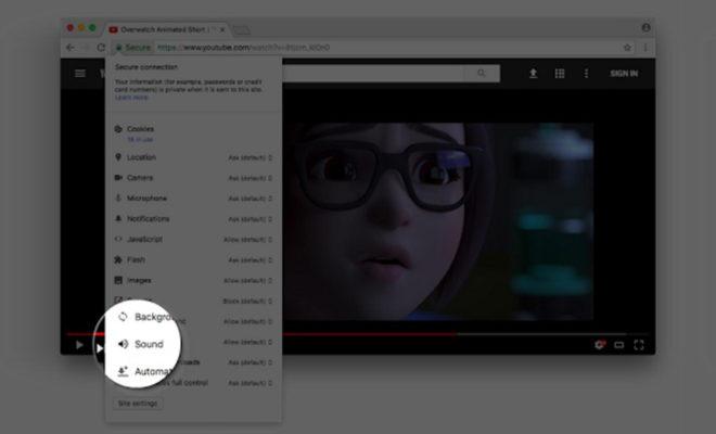 Google Chrome facilite la mise en sourdine des sons ennuyeux