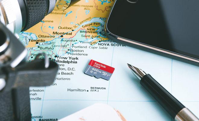 Une carte microSD de 400 Go pour terminaux mobiles — SanDisk
