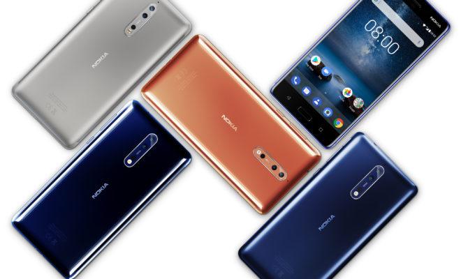 La marque finlandaise Nokia revient en force avec le Nokia 8…