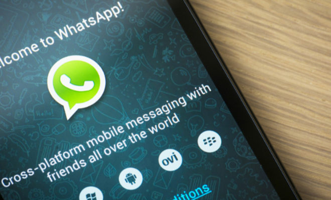 La suppression des messages arrive — WhatsApp