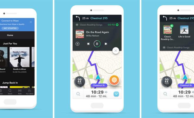 Waze et Spotify font aussi la route ensemble sur iOS