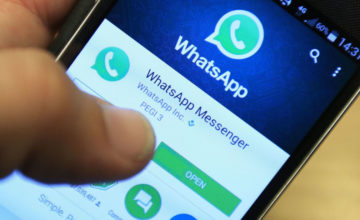File photo dated 06/04/16 of Whatsapp being used on a smartphone. Messaging services like WhatsApp must open up their platforms to the intelligence agencies and social media giants must do more to police extremist material as part of efforts to fight terror, the Home Secretary has said.
