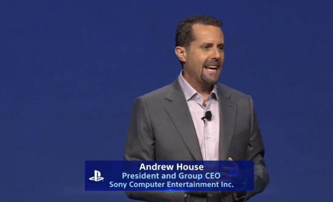 Andrew House n'est plus le Président de Sony Interactive Entertainment
