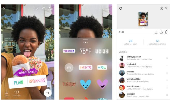 Instagram lance le sticker de sondage interactif pour ses Stories