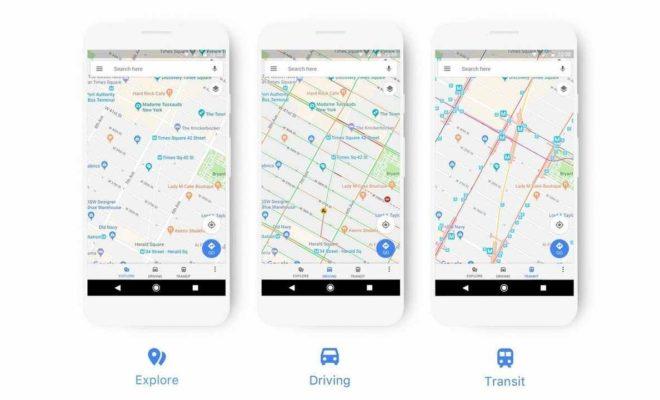 Google Maps : découvrez la nouvelle version