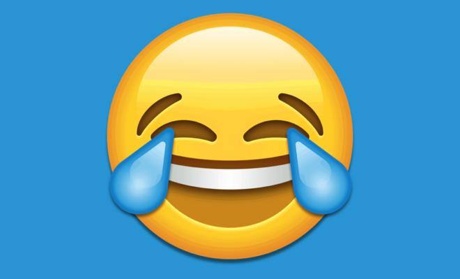 L'émoji préféré des Américains est mort de rire