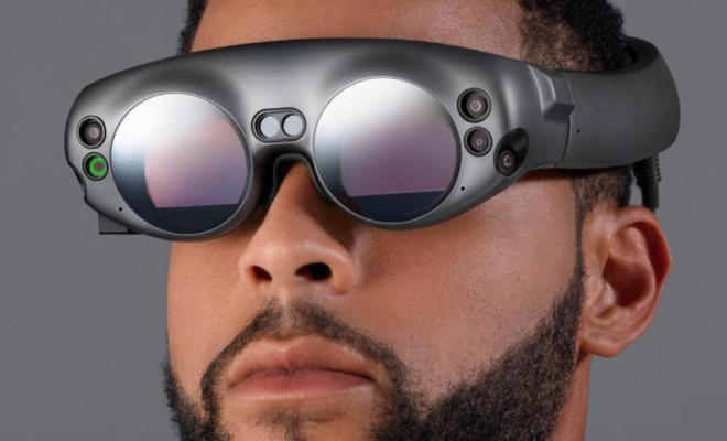 Les lunettes de Magic Leap dévoilées pour la première fois — Réalité mixte