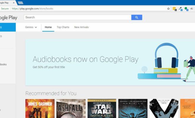 google play store va bient t commencer vendre des livres audio. Black Bedroom Furniture Sets. Home Design Ideas