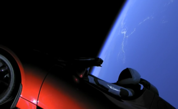 Tesla-Roadster-Space
