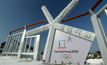 PYEONGCHANG-GUN, SOUTH KOREA - JANUARY 21: Preparations continue ahead of the Pyeongchang 2018 Winter Olympics on January 21, 2018 in Pyeongchang-gun, South Korea. (Photo by Richard Heathcote/Getty Images)