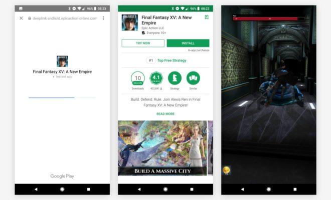 Des jeux disponibles sans téléchargement sur Android — Google Play Instant