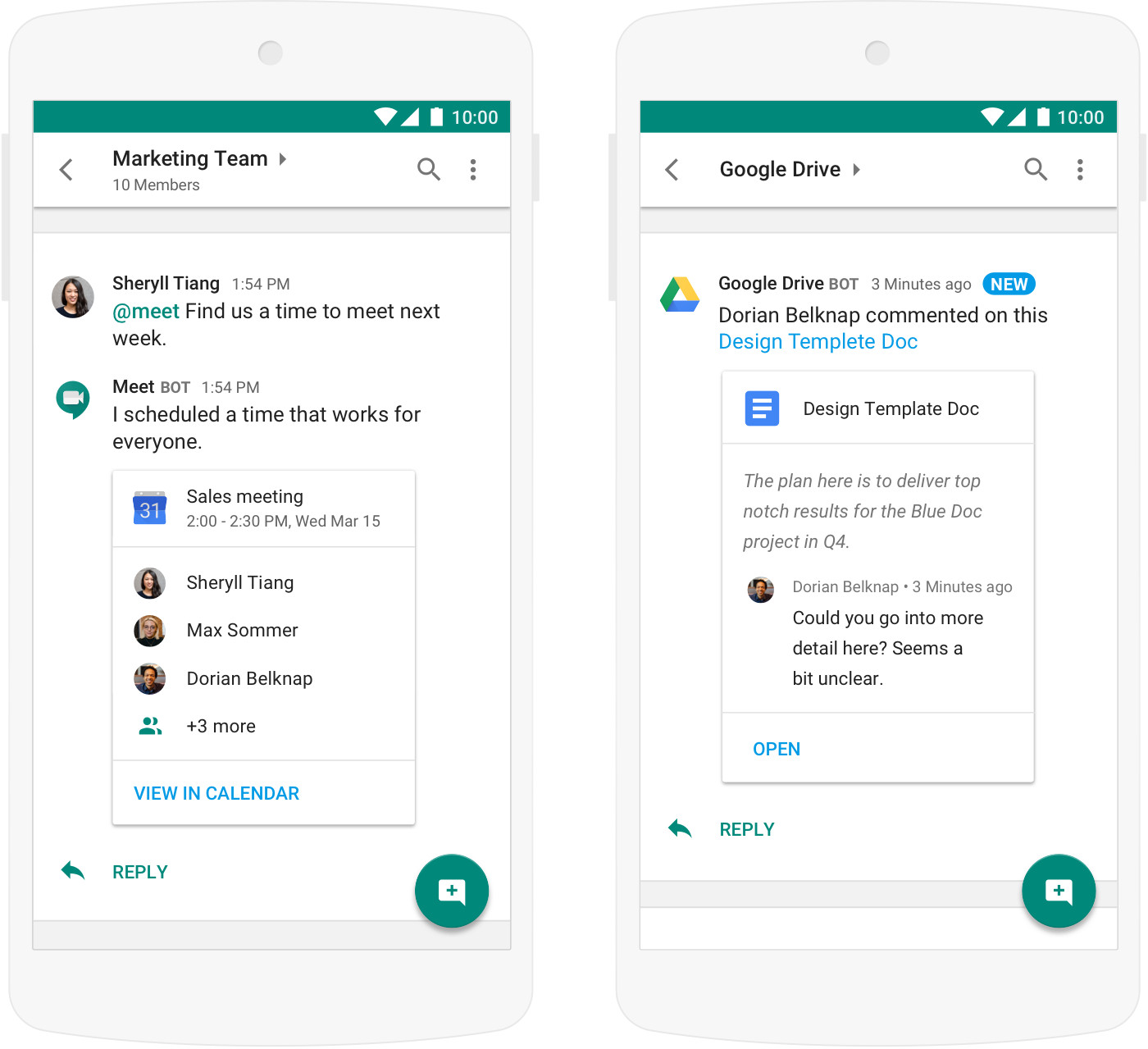 Google lance Hangouts Chat, sa messagerie professionnelle