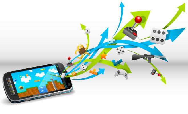 Les jeux concentrent 80% des revenus — Apps