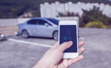 déverrouillage voiture smartphone