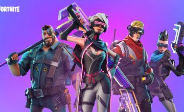 Fortnite personnages cyberpunk