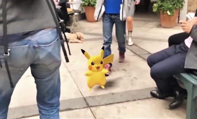 Niantic fait une démo impressionnante d'un Pikachu en réalité augmentée
