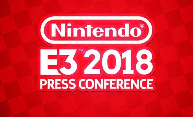 conférence Nintendo E3 2018